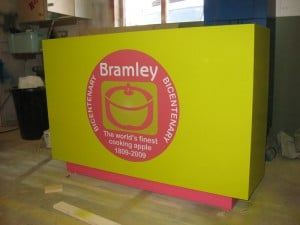 Bar Unit for Bramley Apple Exhibition Stand