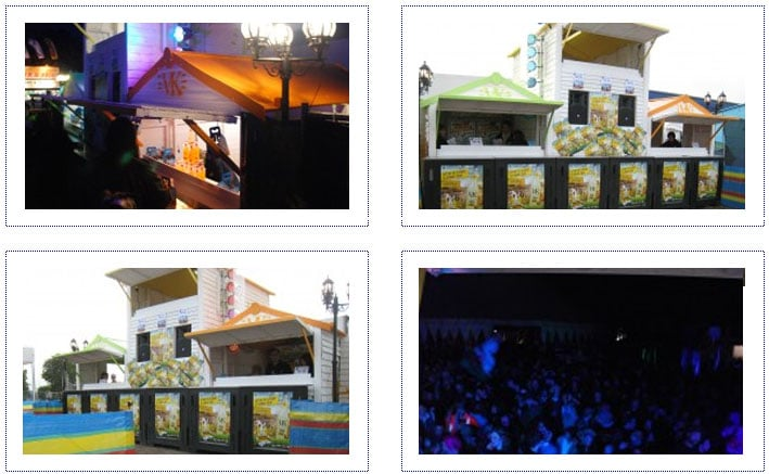 VK - Experiential Activity at Music Festival