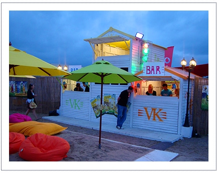 VK - Experiential Activity at Music Festival2