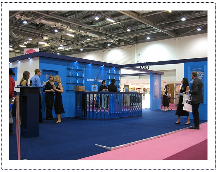 Bombay Sapphire - Exhibition Stand
