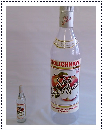 Giant Prop - Stolichnya Bottle