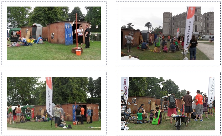 World Vision - Experiential Stand - Music Festivals 3