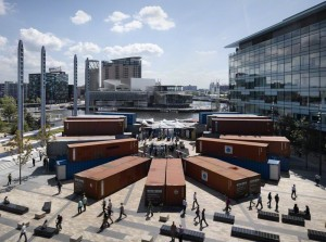shipping containers - experiential music boxes