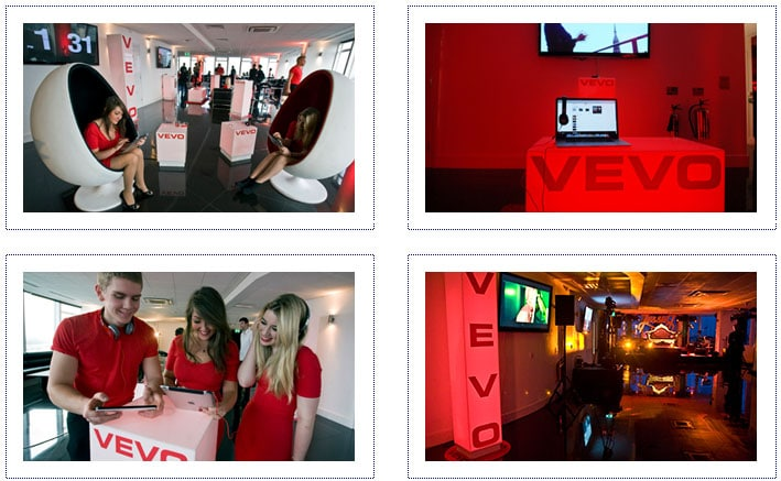 Vevo - Event Dressing 2