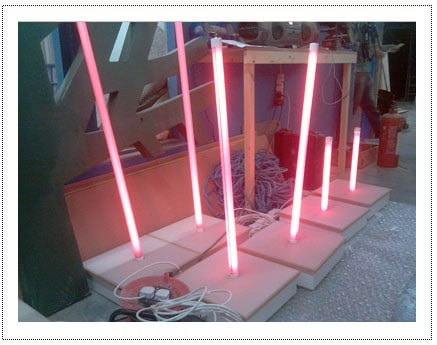 WIP - Internally Lit Plinths