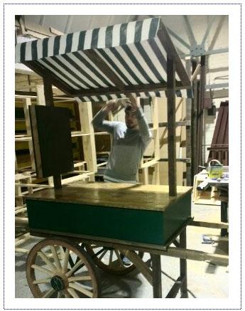 WIP - Market Stall Cart