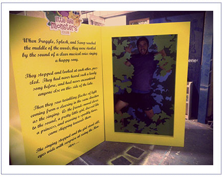 Giant Storytelling Book for Shopping Centre Activity 2