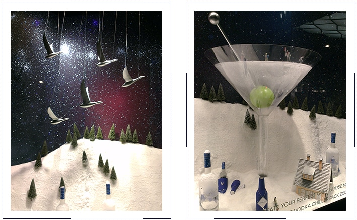 Grey Goose - Selfridges Window