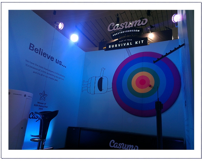 Casumo - Exhibition Stand