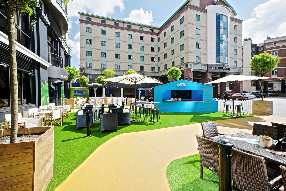 Chelsea FC Summer Garden - Venue commercialization