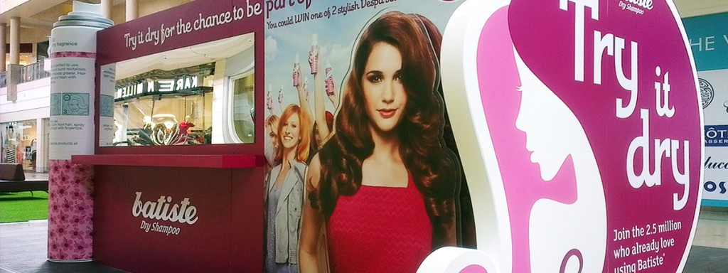 Batiste - Experiential touring stand