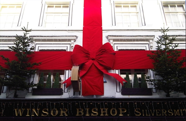 Christmas - Winsor Bishop Building Wrap