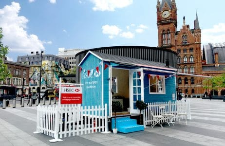 Bespoke trailer unit created for HSBC