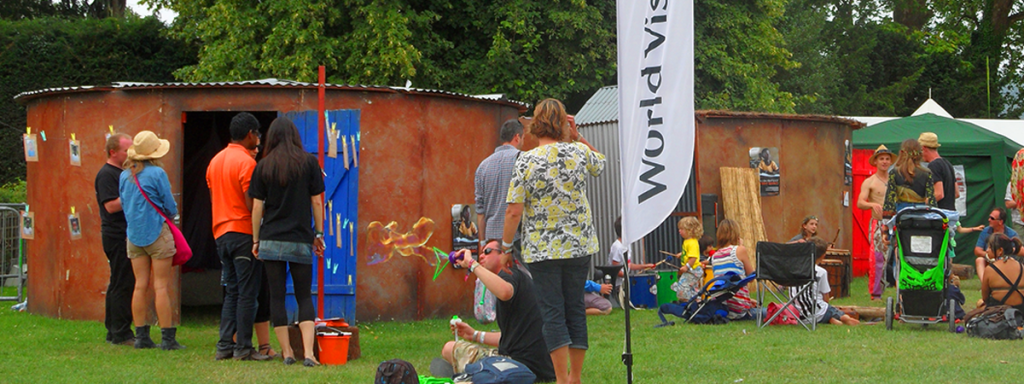 Experiential_stand_World_vision
