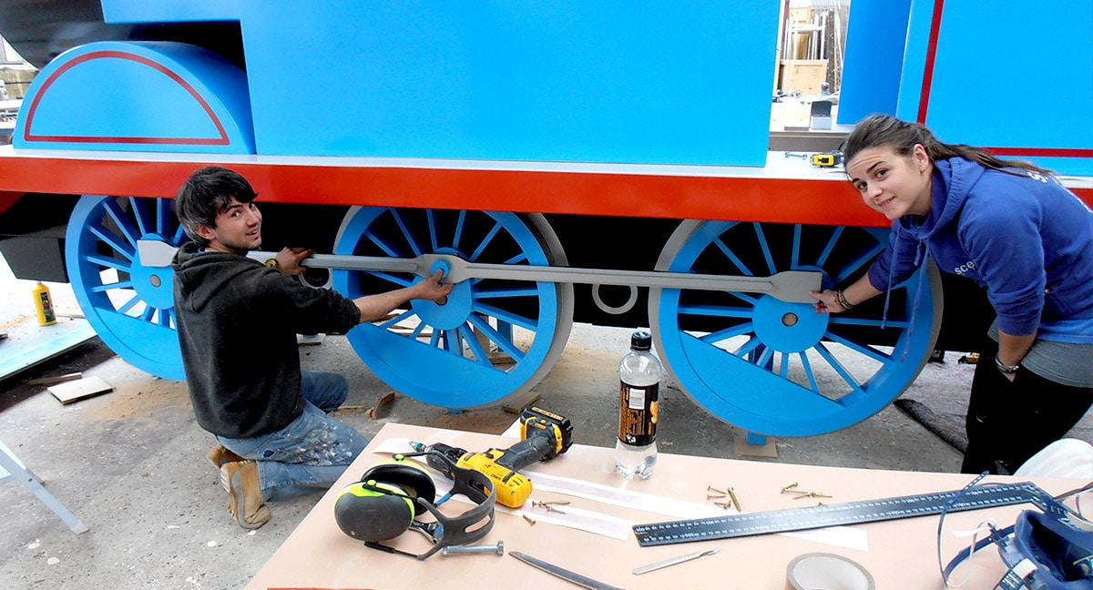 Giant Prop - Thomas The Tank Engine - final assembly