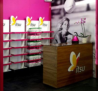 ITSU Sampling Exhibition Stand