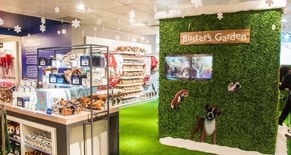 John Lewis - Christmas 2016 - In-store experiential