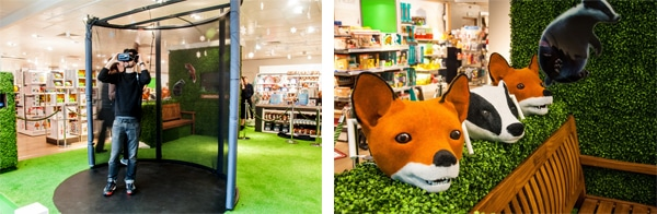 John Lewis Christmas 2016 - In-store experiential