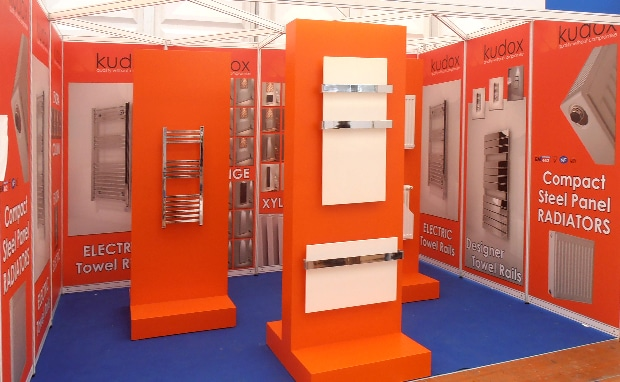 Kudox Shell scheme exhibition stand