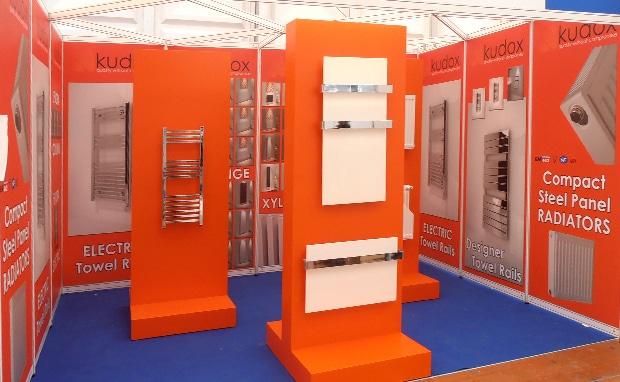 Kudox Shell scheme exhibition stand