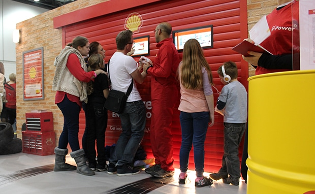 Shell - experiential exhibition stand