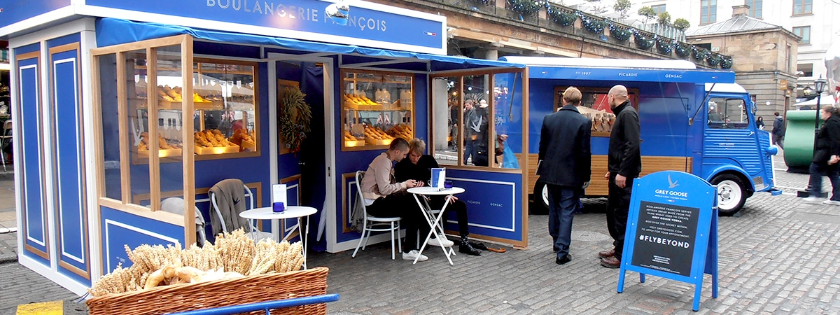 grey goose pop-up shop - boulangerie