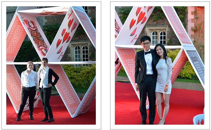 jesus college may ball giant house of cards - guests3