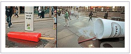 Experiential Street Activity - Bounty