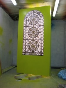 Stained Glass Window for Bramley Apple Exhibition Stand