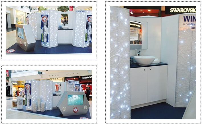 Arm & Hammer Experiential Exhibition Stand - Shopping Centre Tour