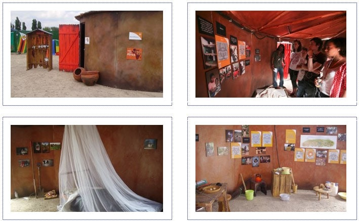 World Vision - Experiential Stand - Music Festivals - interior