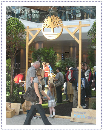 Timberland Experiential Shopping Centre Activity