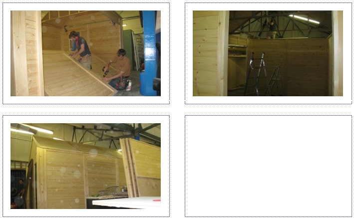 WIP - Jordans Barn for experiential activity- county shows