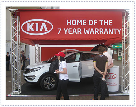 Kia - Exhibition Stand 2
