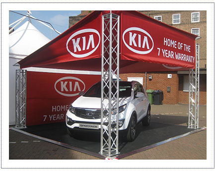 Kia - Exhibition Stand