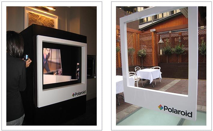 Polaroid - event dressing