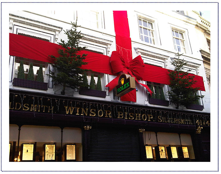 window display - Winsor Bishop