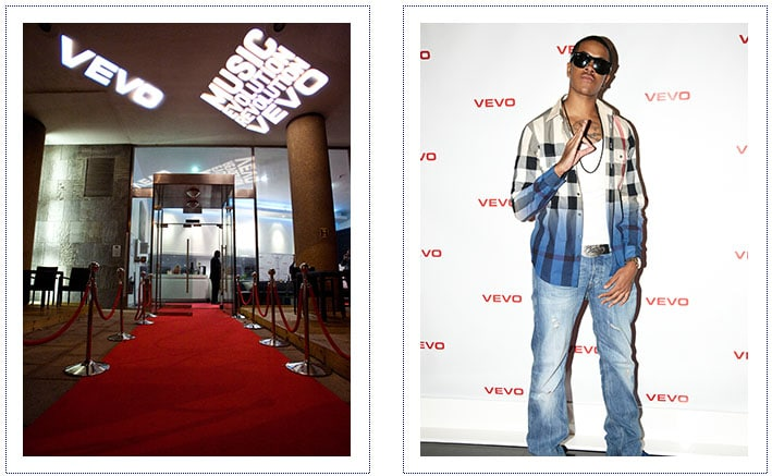 Vevo - Event Dressing