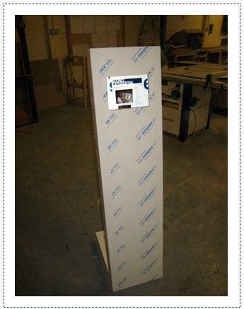 Acrylic Kiosk Units for photo mechanic