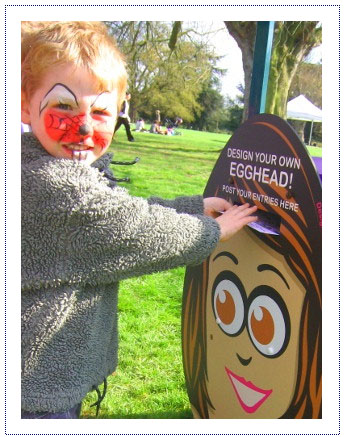 Experiential Activity - Easter Egg Trails - Giant Egg Postbox