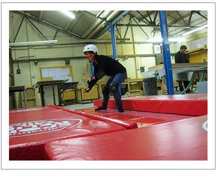 Sports Relief - Sock Sliding