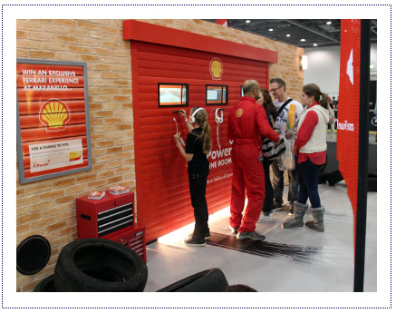 Experiential Exhibition Stand - Shell