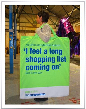 Giant Shopping Bag