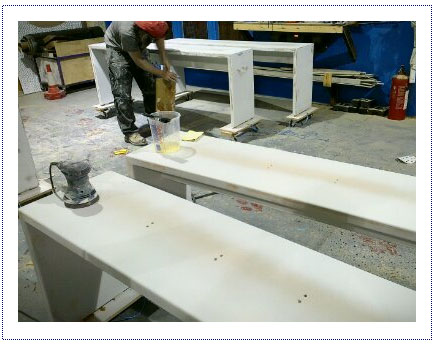 WIP - Greg Sanding Benches