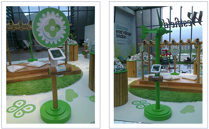 Experiential Exhibition Stand - Andrex Bamboozled Shopping Centre Tour