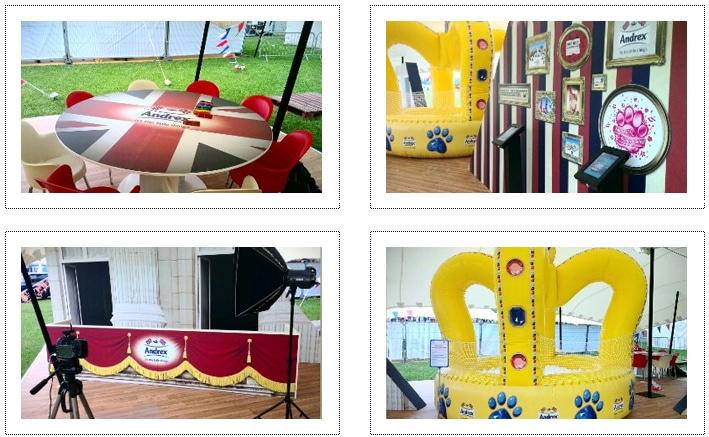 Andrex Jubilee - experiential activity