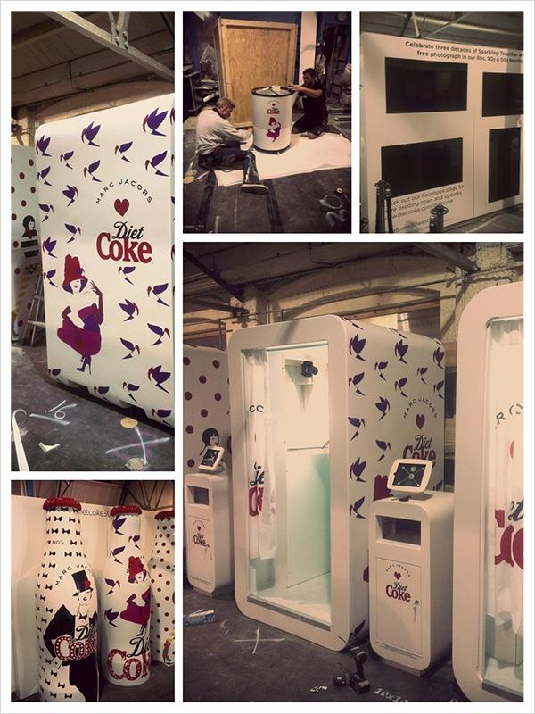 Diet Coke Mall tour - workshop photos