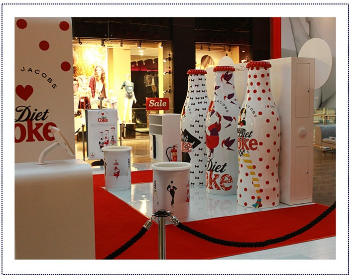 Experiential Marketing - Diet Coke Mall Tour