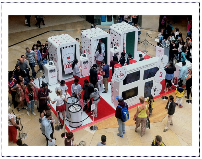Experiential Marketing - Diet Coke Mall Tour3