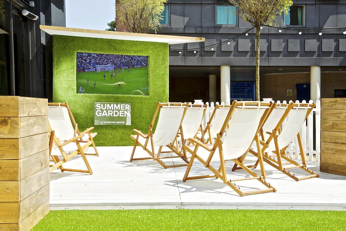Chelsea FC Summer Garden - Venue commercialization